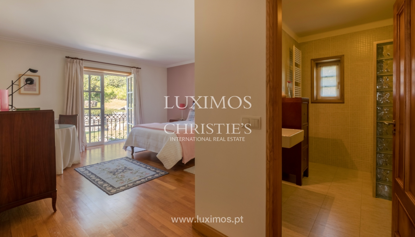 Tipical Portuguese House with garden and swimming pool, for sale, Guimarães, Portugal_153196