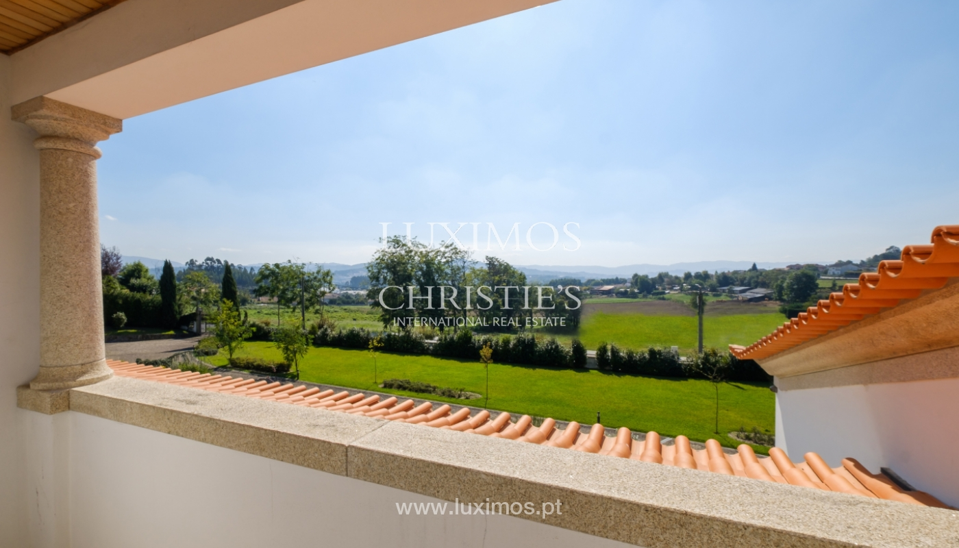 Tipical Portuguese House with garden and swimming pool, for sale, Guimarães, Portugal_153248