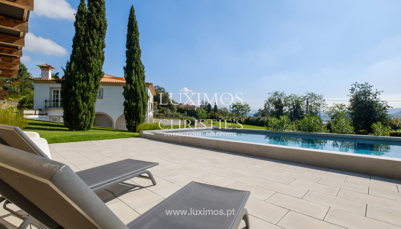 Tipical Portuguese House with garden and swimming pool, for sale, Guimarães, Portugal_153258