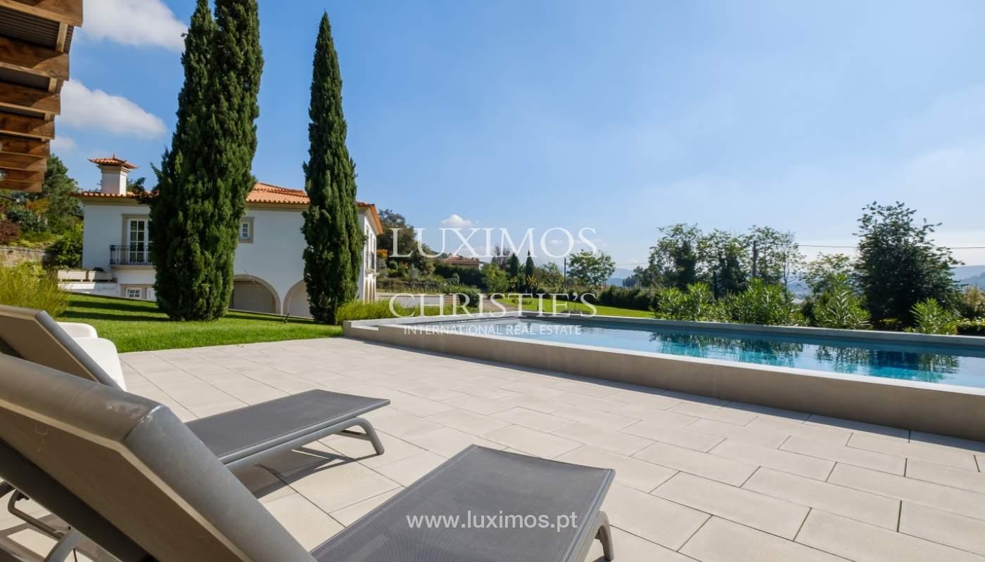 Típica casa portuguesa con jardín y piscina, en venta, Guimarães, Portugal_153258