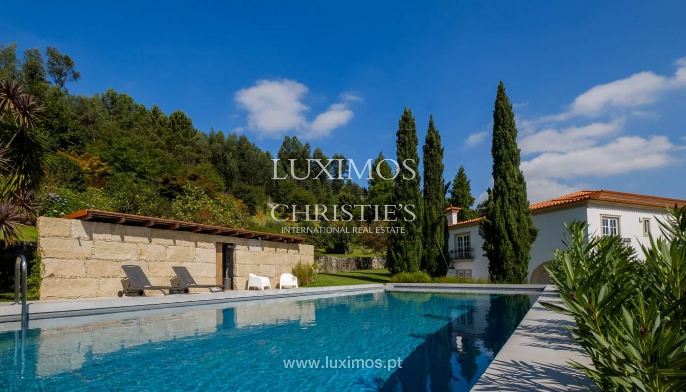Típica casa portuguesa con jardín y piscina, en venta, Guimarães, Portugal_153263