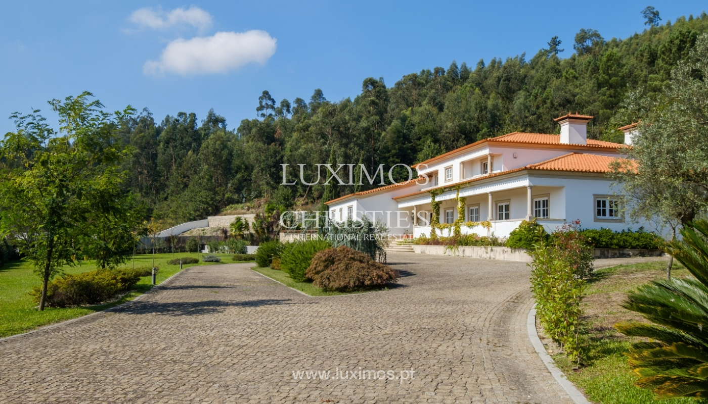 Tipical Portuguese House with garden and swimming pool, for sale, Guimarães, Portugal_153283