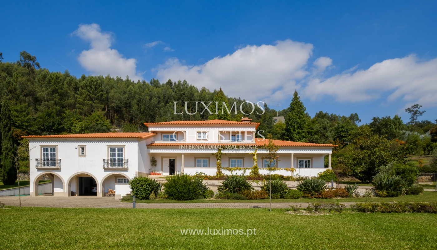 Tipical Portuguese House with garden and swimming pool, for sale, Guimarães, Portugal_153289
