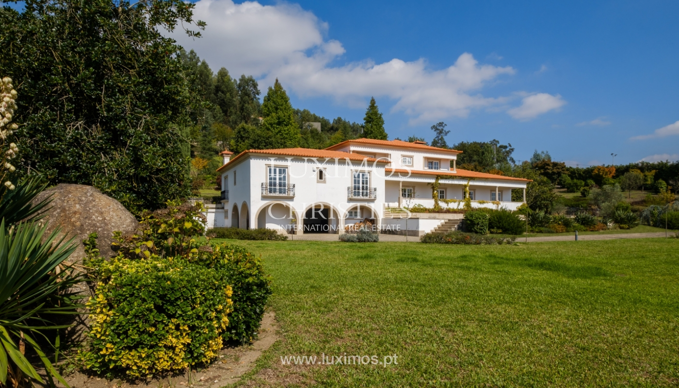 Tipical Portuguese House with garden and swimming pool, for sale, Guimarães, Portugal_153290