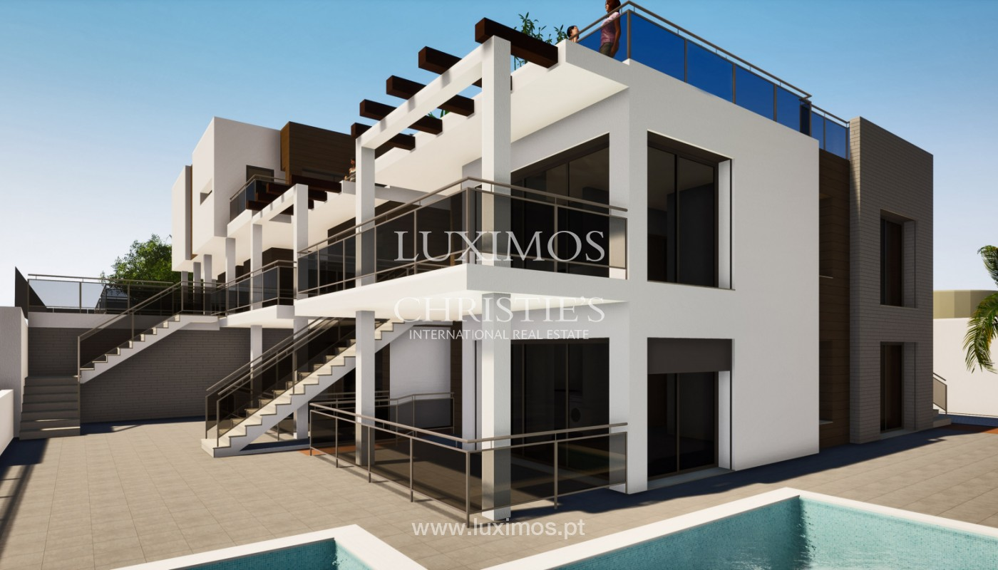 Modern 2 bedroom apartment, with sea view, Albufeira, Algarve_153437