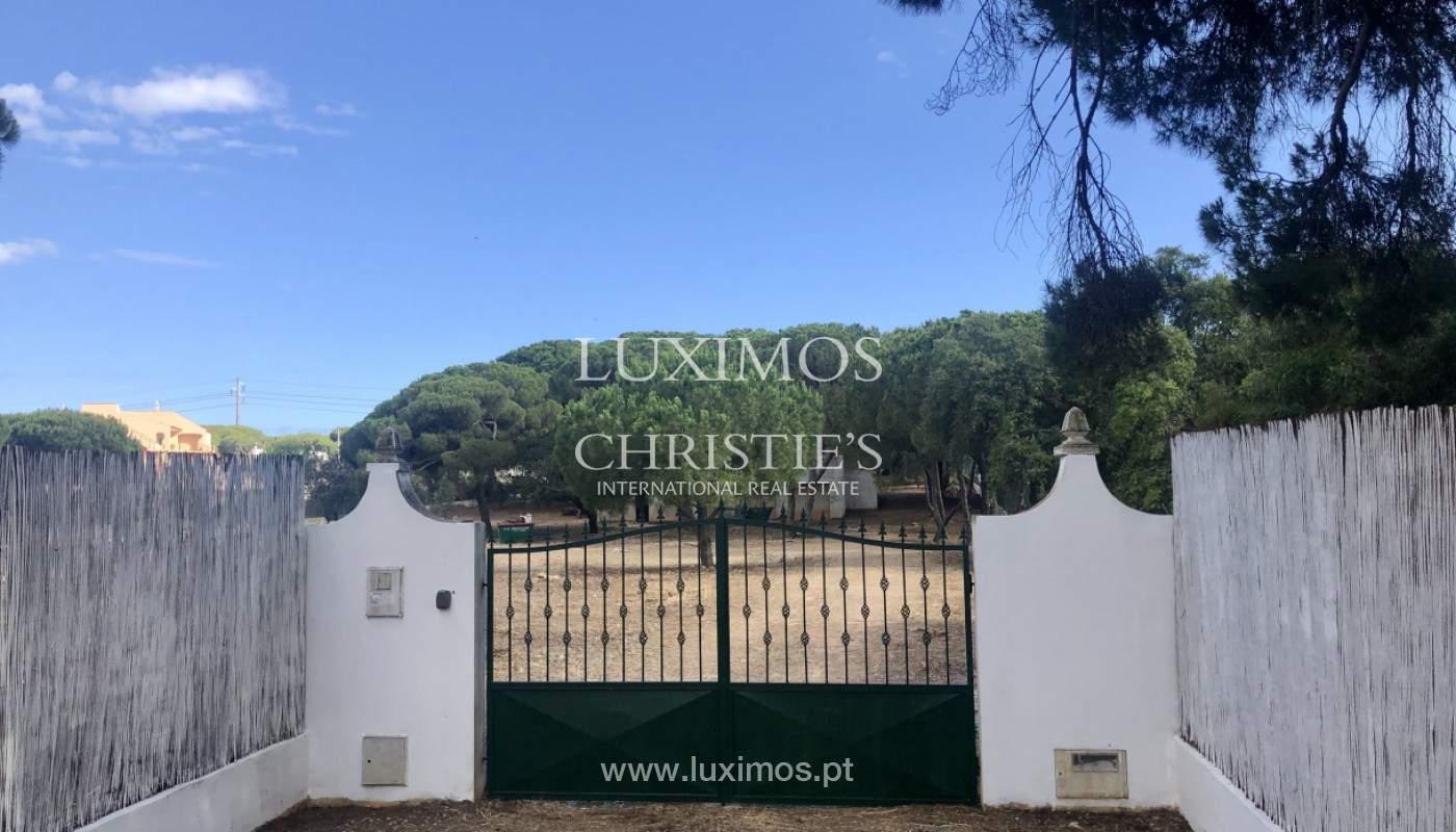 Parcelle de terrain, avec viabilité de construction, Almancil, Algarve_153897