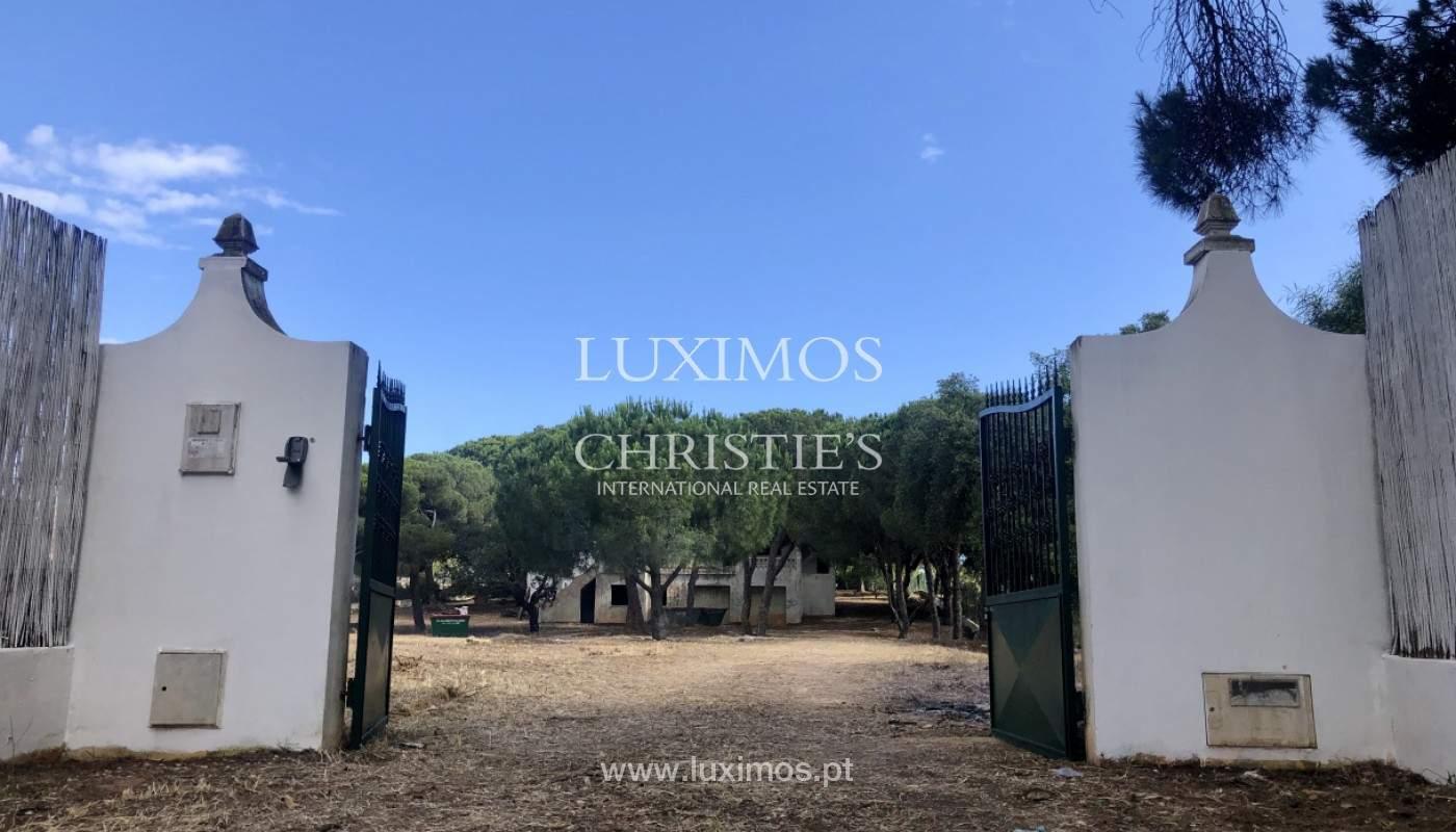 Parcelle de terrain, avec viabilité de construction, Almancil, Algarve_153898