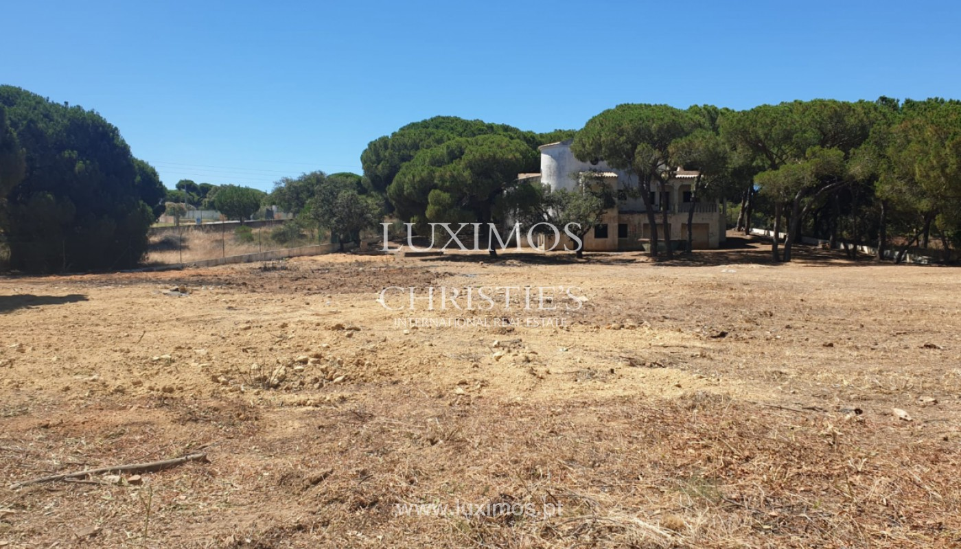Parcelle de terrain, avec viabilité de construction, Almancil, Algarve_153917