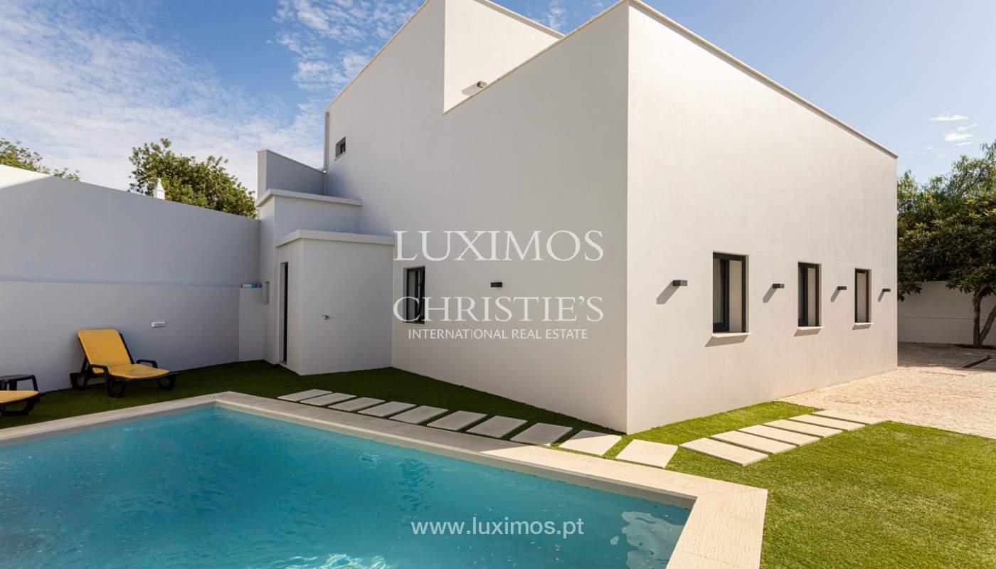 Villa contemporánea, con vista al mar y a la montaña, Santa Bárbara de Nexe, Algarve_153925