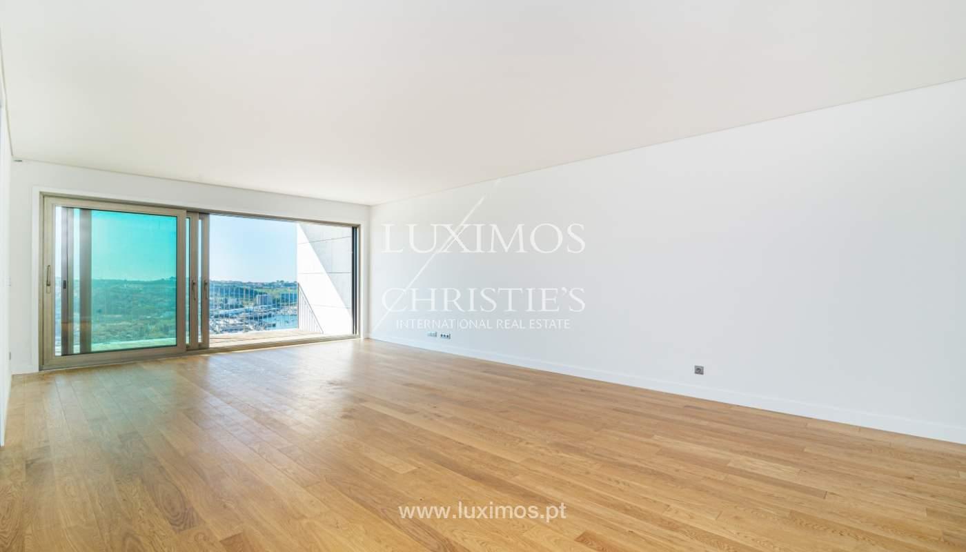 Appartement de luxe, à vendre, avec vue sur le fleuve et Foz do Douro, Portugal_154093
