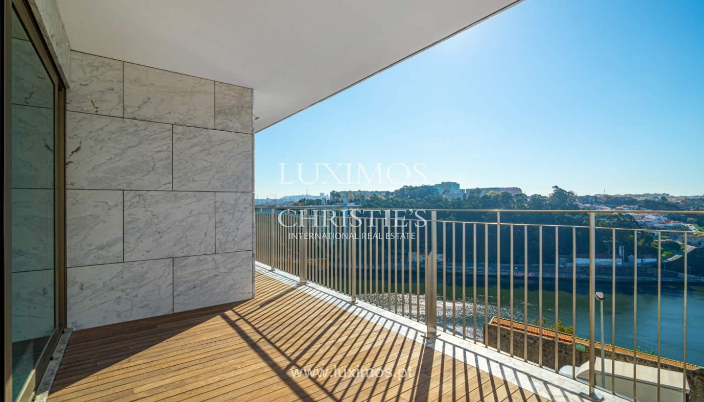Appartement de luxe, à vendre, avec vue sur le fleuve et Foz do Douro, Portugal_154099