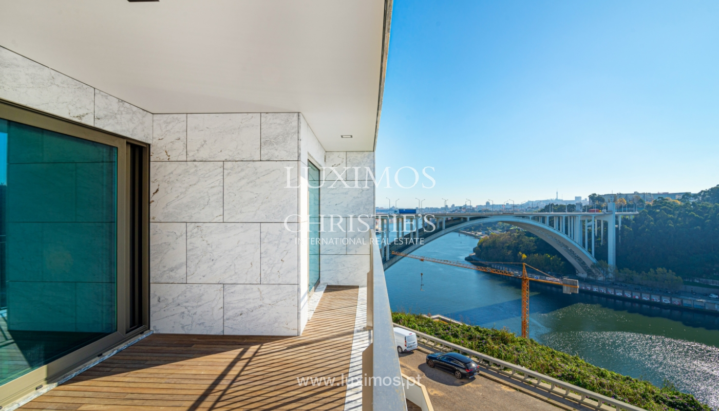 Appartement de luxe, à vendre, avec vue sur le fleuve et Foz do Douro, Portugal_154100