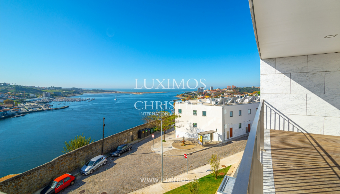 Appartement de luxe, à vendre, avec vue sur le fleuve et Foz do Douro, Portugal_154101
