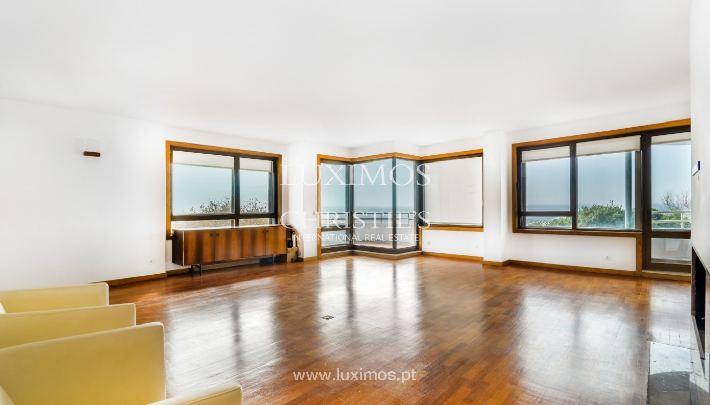 Apartment with balcony and sea views, for sale, in Foz do Douro, Porto, Portugal_154118