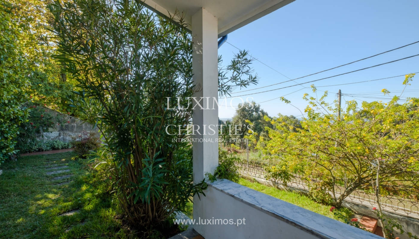 Moradia com jardim e vistas mar, para venda, em Vila Nova de Gaia_154368