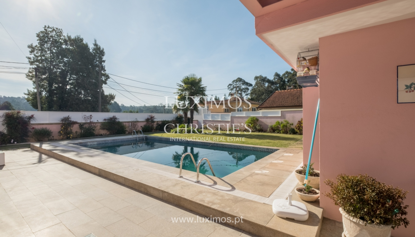 Villa de luxe avec piscine et jardin, à vendre, à Espinho, Portugal_154795