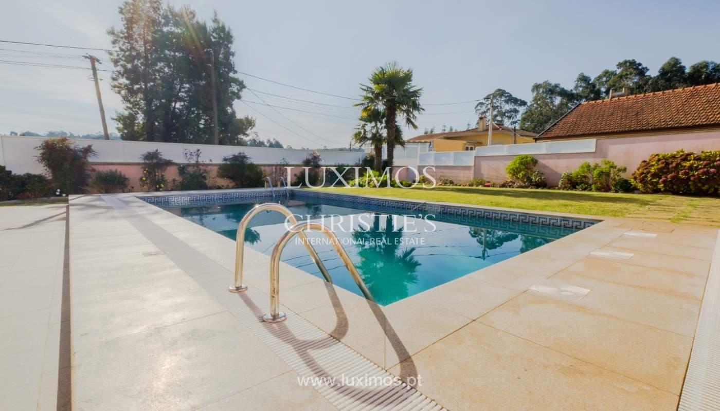 Villa de luxe avec piscine et jardin, à vendre, à Espinho, Portugal_154799