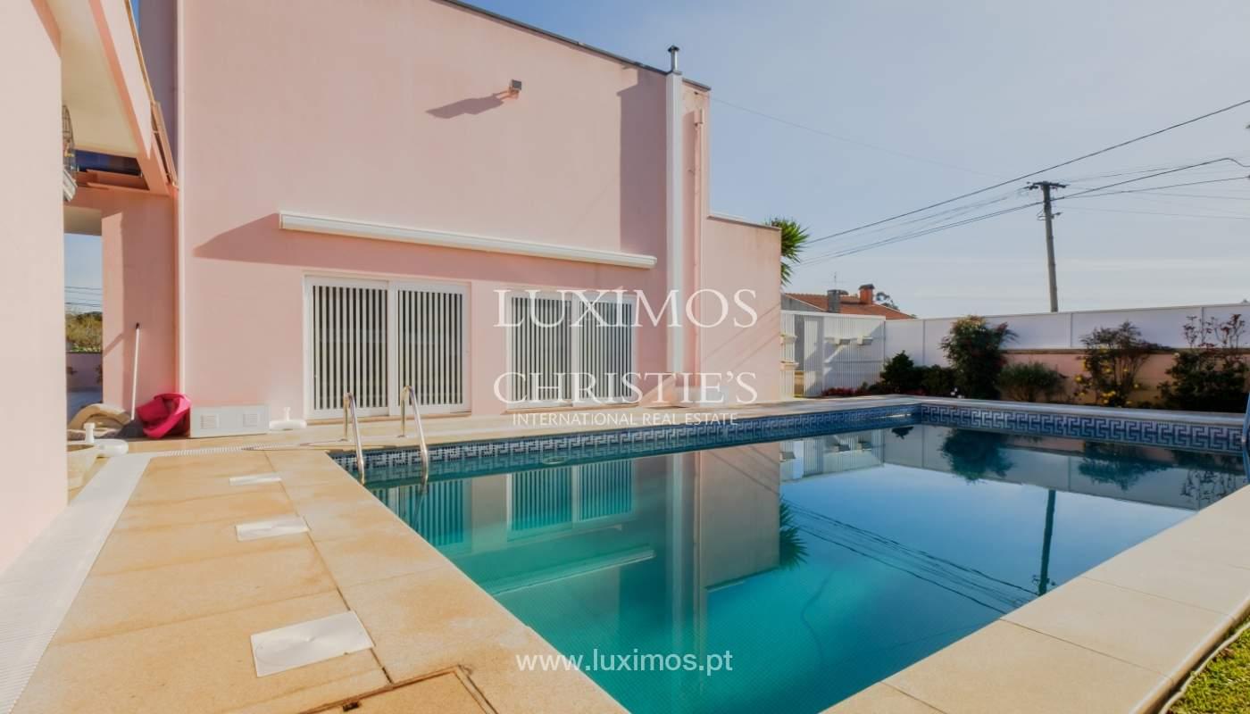 Villa de luxe avec piscine et jardin, à vendre, à Espinho, Portugal_154800