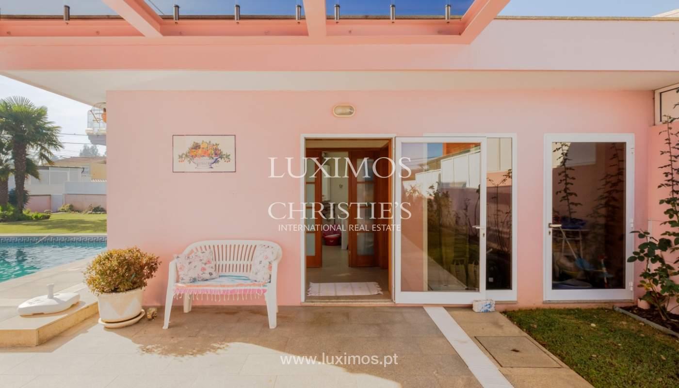 Villa de luxe avec piscine et jardin, à vendre, à Espinho, Portugal_154876