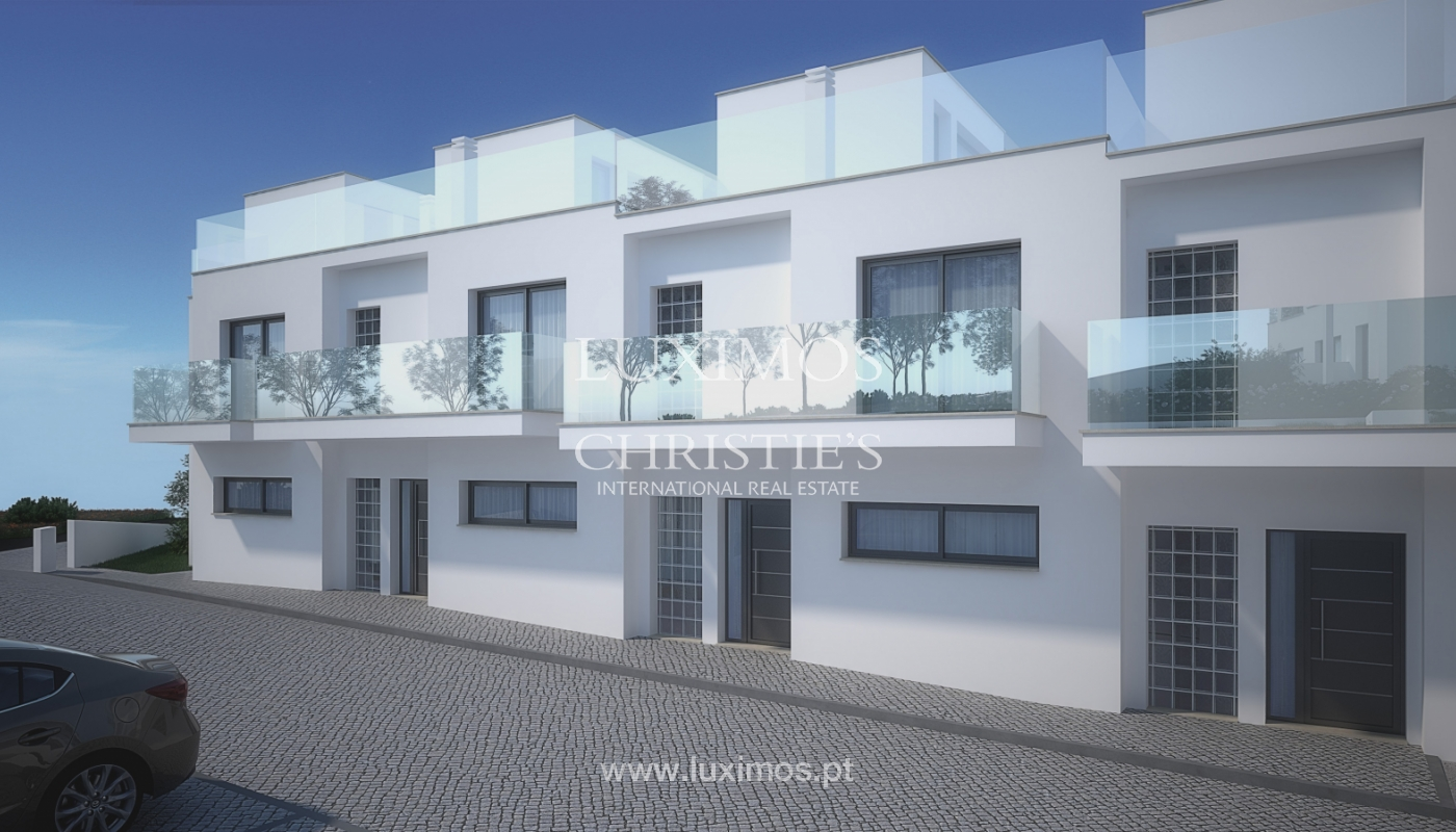 Nouvelle villa de 3 chambres, condominium privé, Albufeira, Algarve_154975