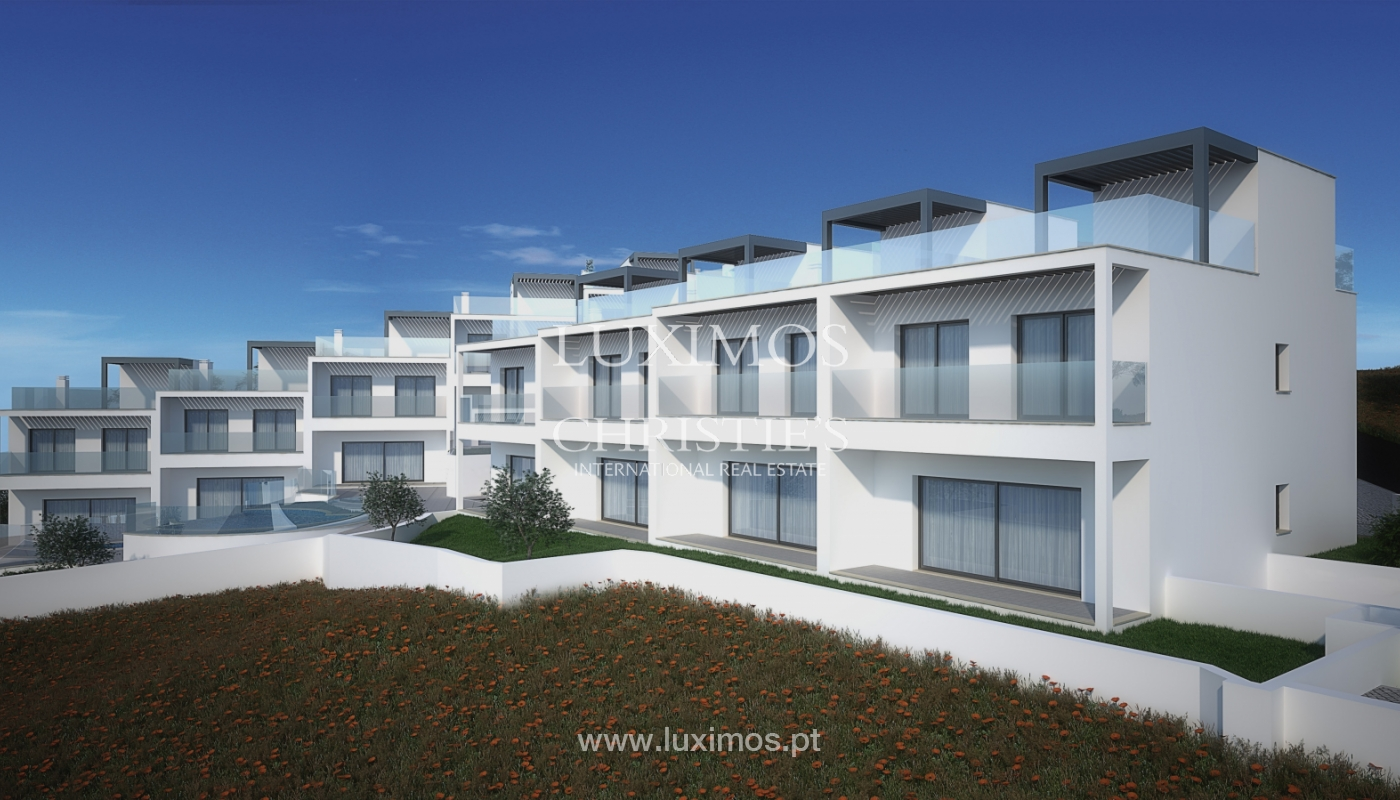 Nouvelle villa de 3 chambres, condominium privé, Albufeira, Algarve_154979