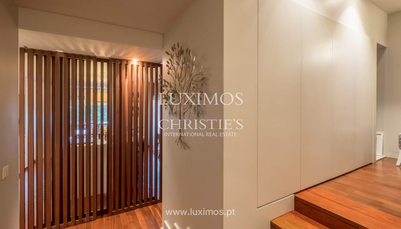 Appartement avec balcon, à vendre, dans le quartier noble de Foz do Douro, Porto, Portugal_155296