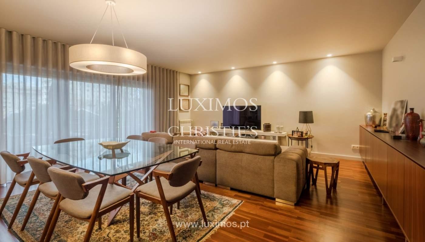 Appartement avec balcon, à vendre, dans le quartier noble de Foz do Douro, Porto, Portugal_155297