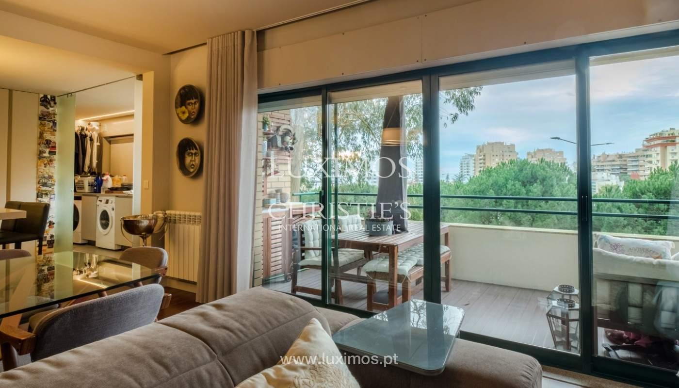 Appartement avec balcon, à vendre, dans le quartier noble de Foz do Douro, Porto, Portugal_155303