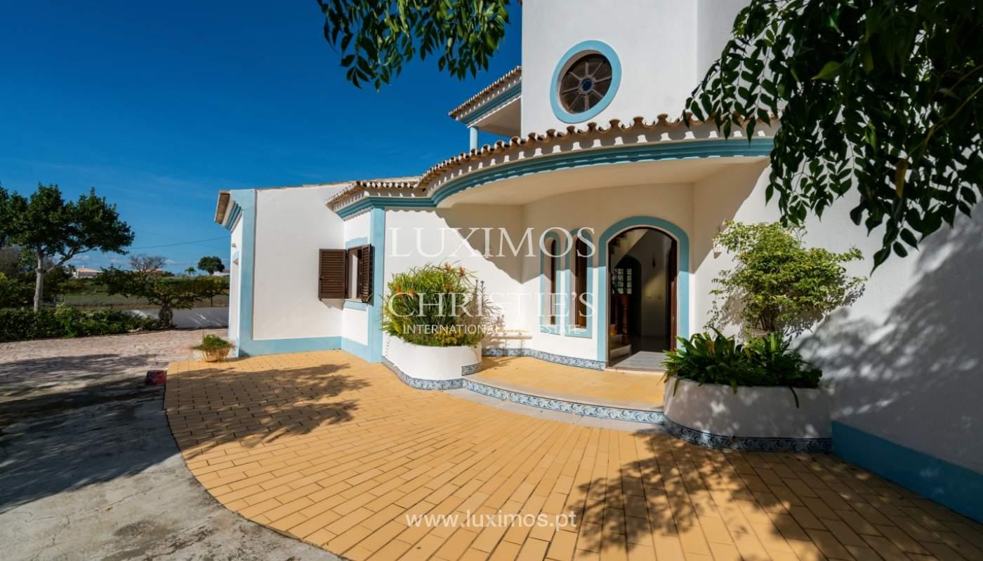 Villa de 4 dormitorios, con piscina y cerca del mar, Albufeira, Algarve_155502