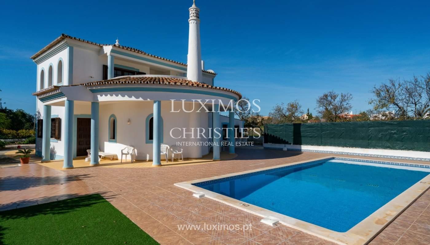 Villa de 4 dormitorios, con piscina y cerca del mar, Albufeira, Algarve_155507