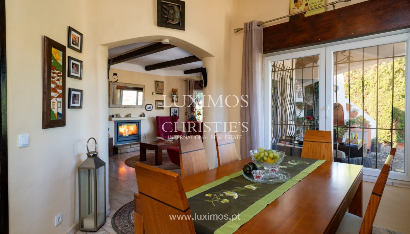 Villa with swimming pool and mountains views, near Alvor, Algarve_155838