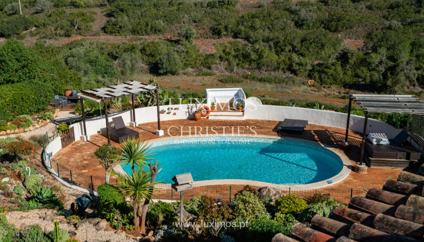 Villa with swimming pool and mountains views, near Alvor, Algarve_155858