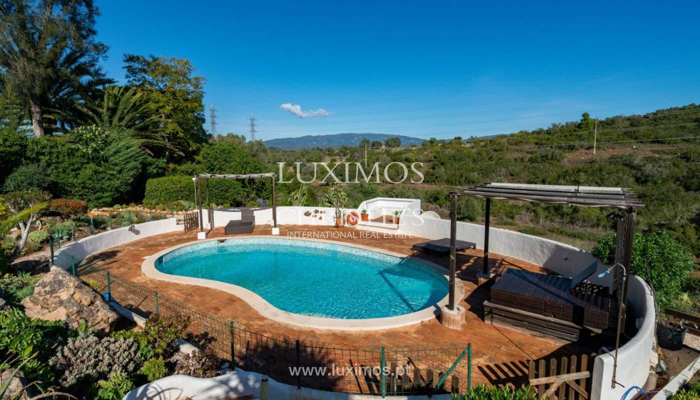 3-Schlafzimmer-Villa, mit Swimmingpool und Blick auf die Berge, Portimão, Algarve_155882