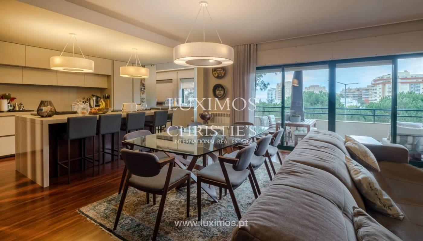 Appartement avec balcon, à vendre, dans le quartier noble de Foz do Douro, Porto, Portugal_155909