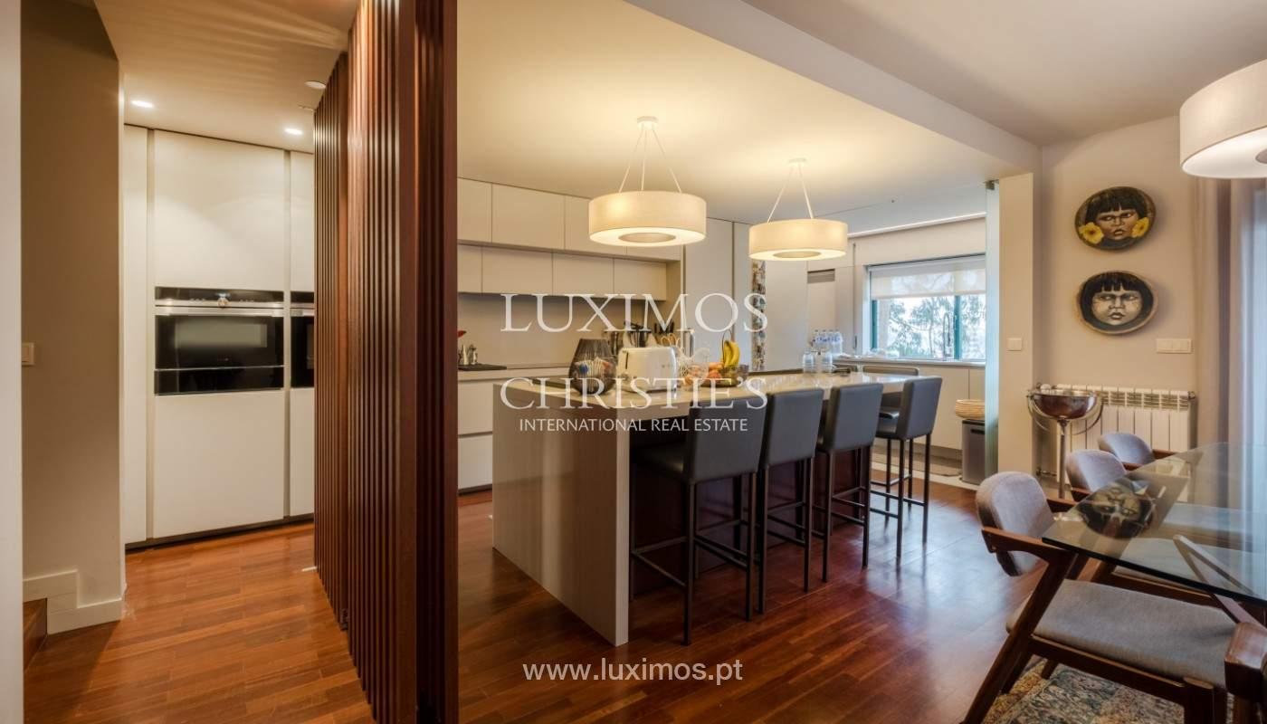 Appartement avec balcon, à vendre, dans le quartier noble de Foz do Douro, Porto, Portugal_155913