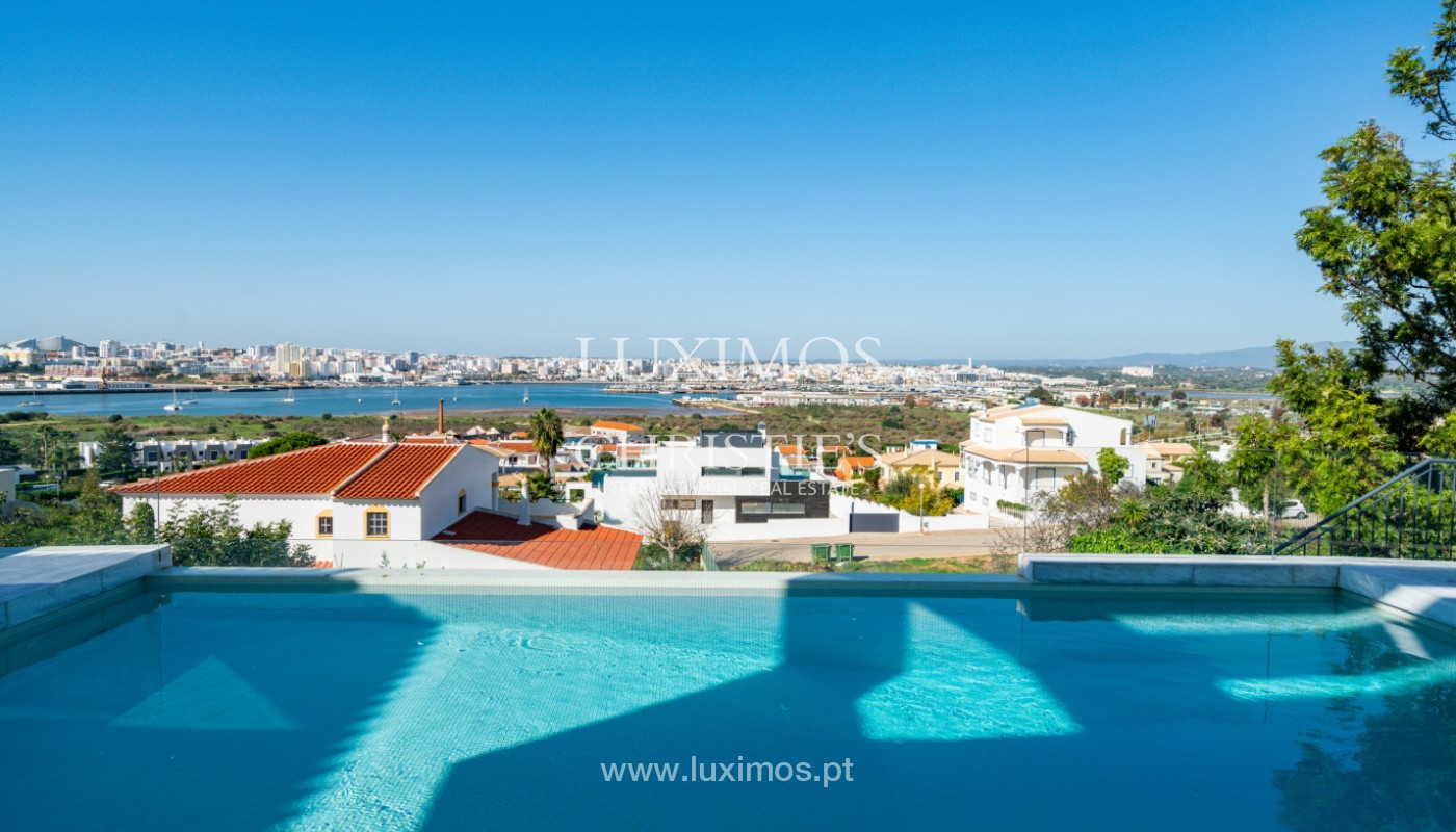 V4 Villa, mit Blick auf den Fluss und das Meer, Ferragudo, Algarve_156184