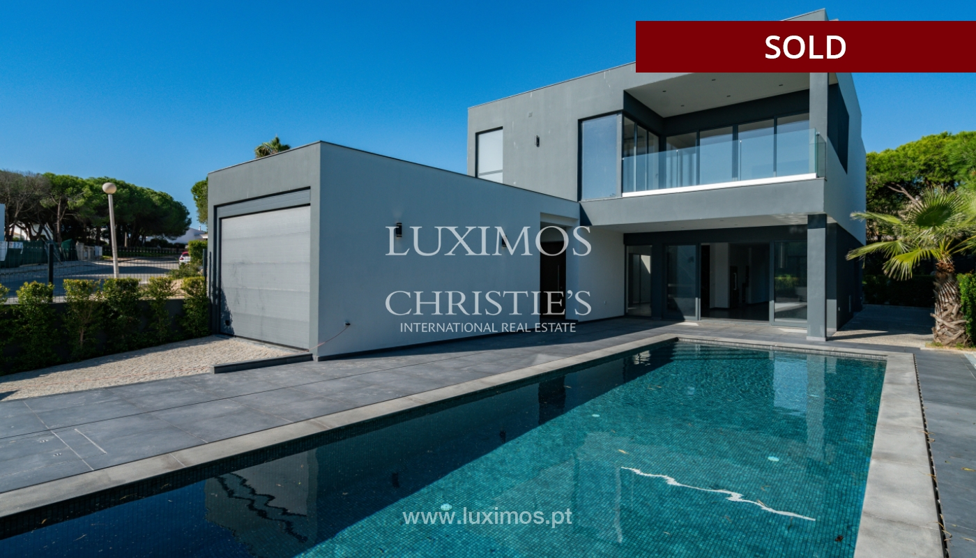 Modern villa, with swimming pool and sea view, Vale do Lobo, Algarve_156684