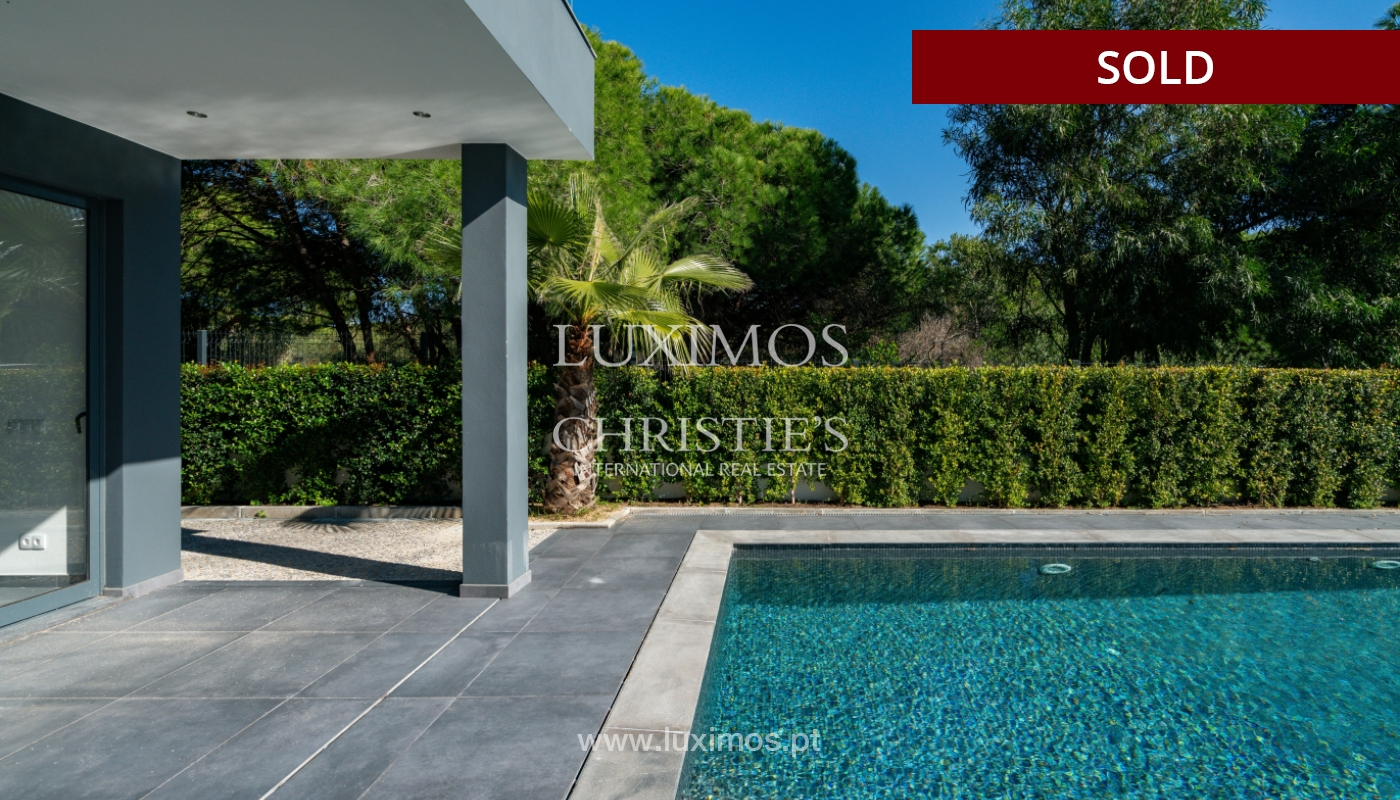 Modern villa, with swimming pool and sea view, Vale do Lobo, Algarve_156687