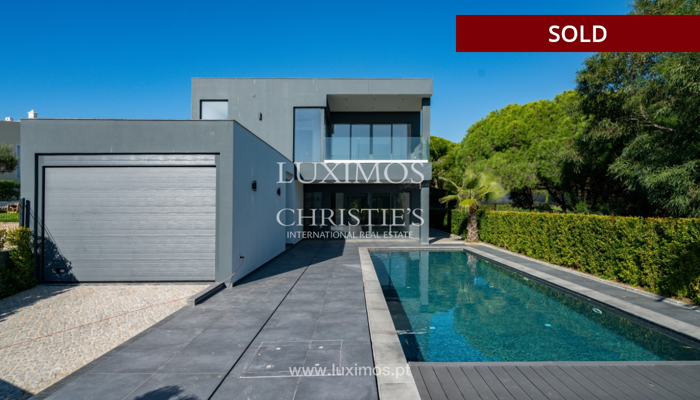 Modern villa, with swimming pool and sea view, Vale do Lobo, Algarve_156692