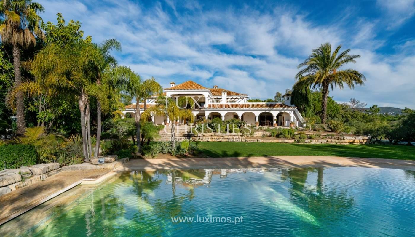 Wonderful Villa with artificial beach, close to Quinta do Lago, Algarve._156723