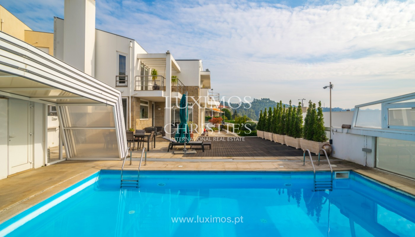 Villa with garden and pool, for sale, in Valbom, Porto, Portugal_156826
