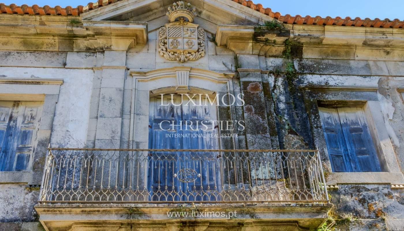 Venta de un palacio del siglo XIX para rehabilitar, Valle del Duero, Lamego, Portugal_157057