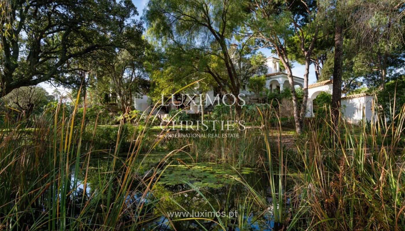 Wonderful Villa with artificial beach, close to Quinta do Lago, Algarve._157428