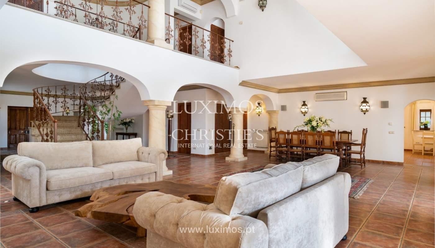 Wonderful Villa with artificial beach, close to Quinta do Lago, Algarve._157432