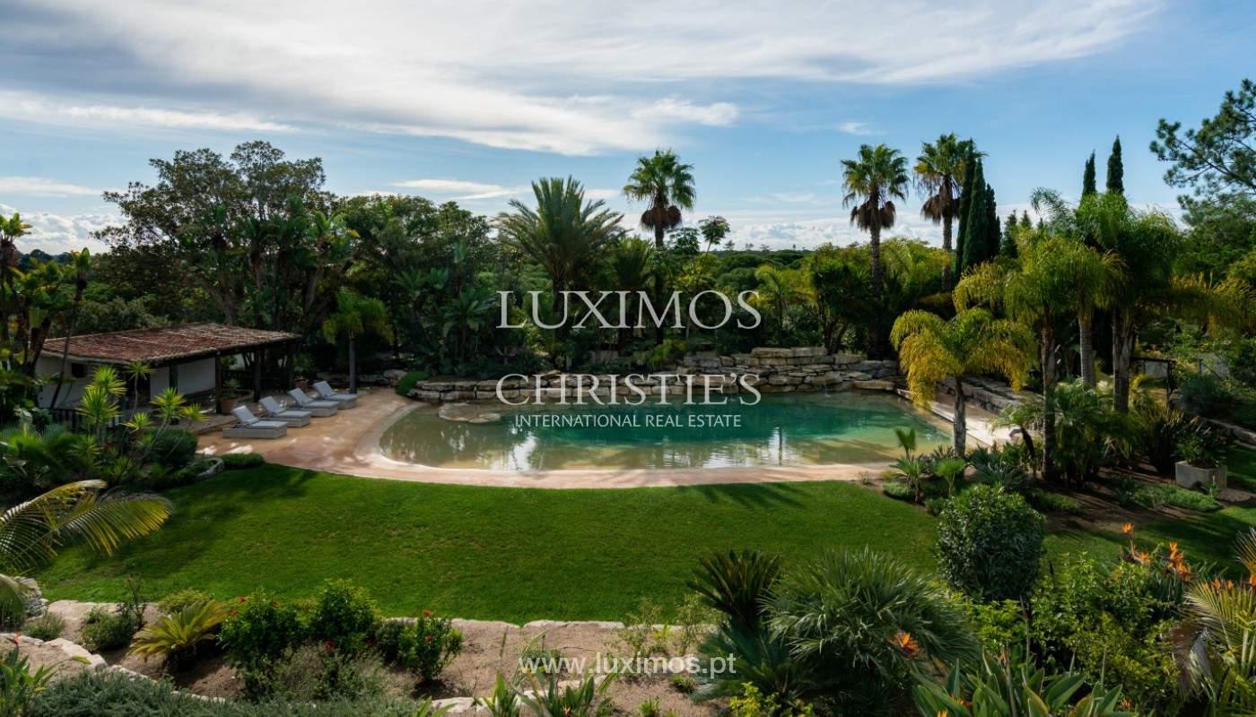Wonderful Villa with artificial beach, close to Quinta do Lago, Algarve._157434