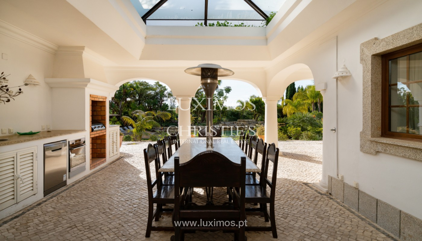 Wonderful Villa with artificial beach, close to Quinta do Lago, Algarve._157436