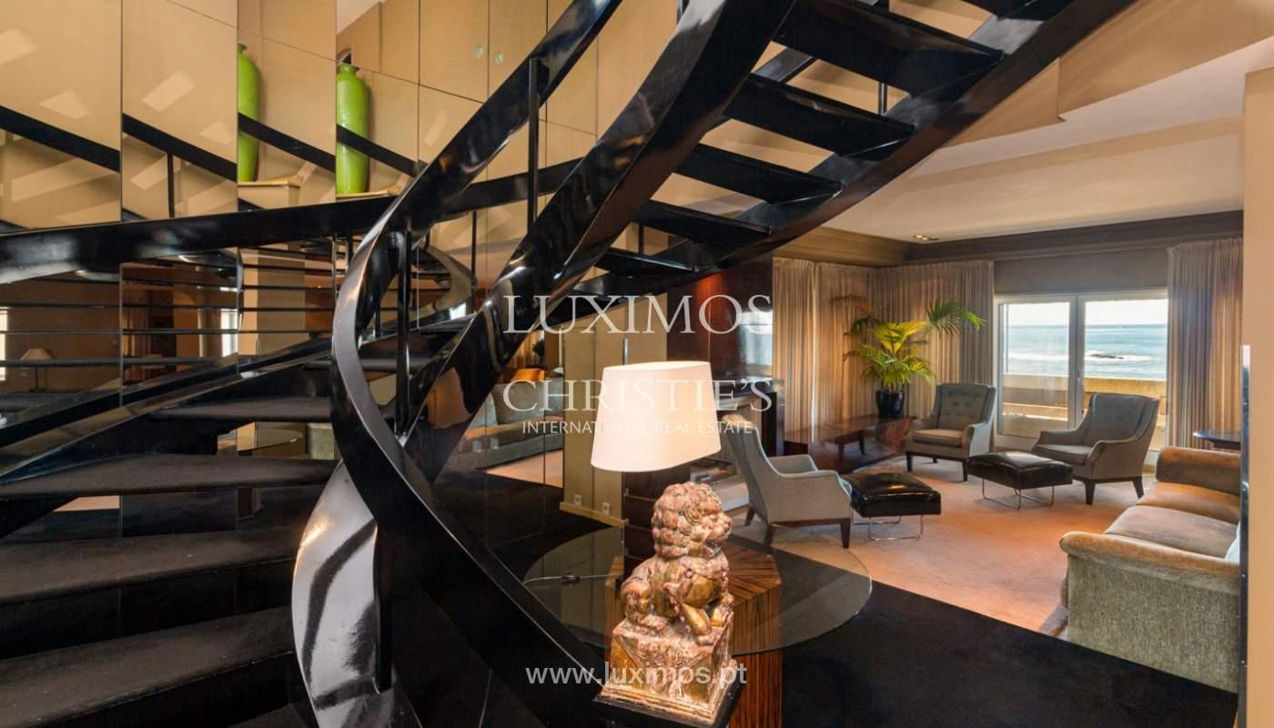 Apartamento de lujo en primera línea de mar, en venta, Foz, Porto, Portugal_157458