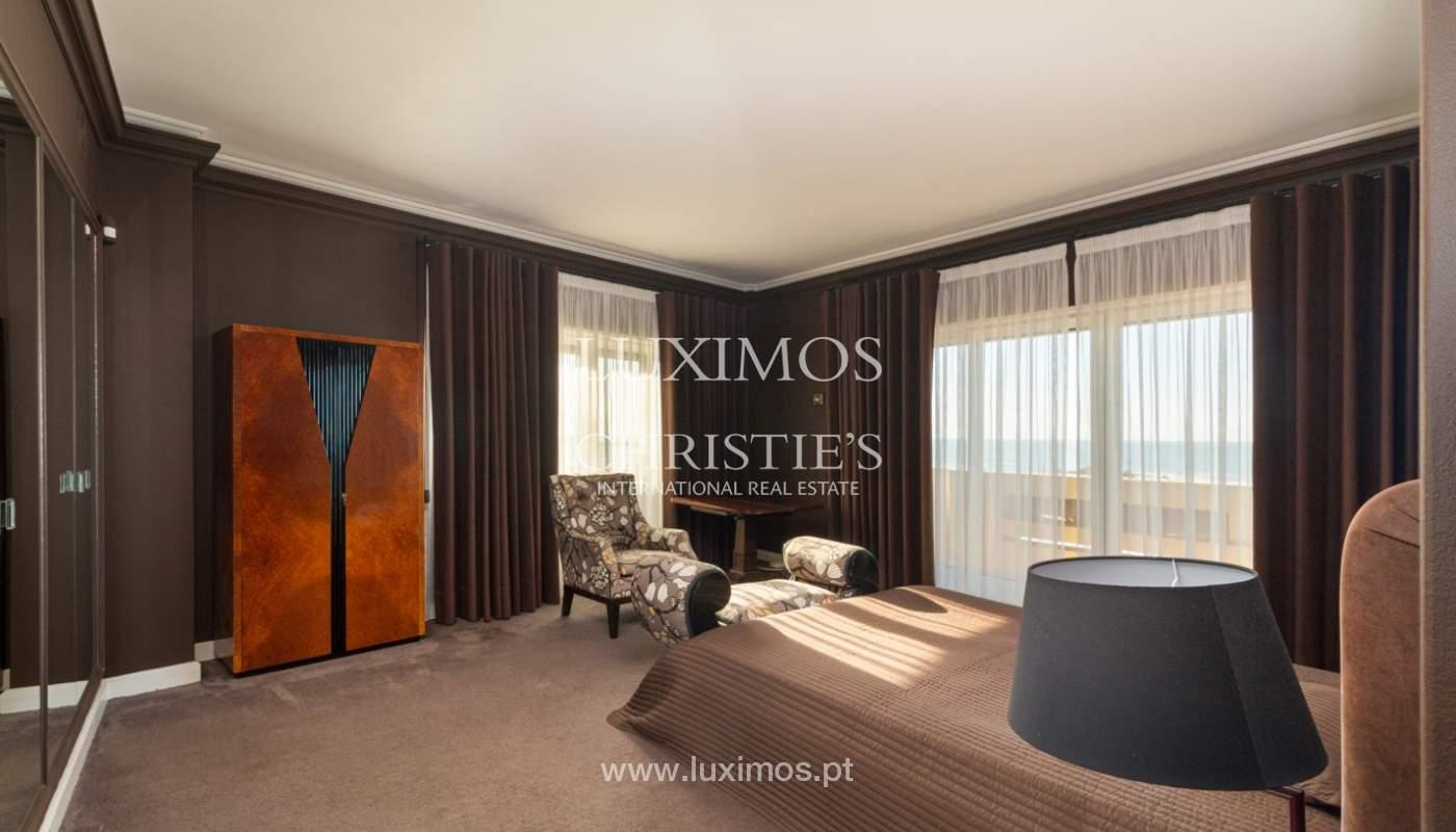 Apartamento de lujo en primera línea de mar, en venta, Foz, Porto, Portugal_157467
