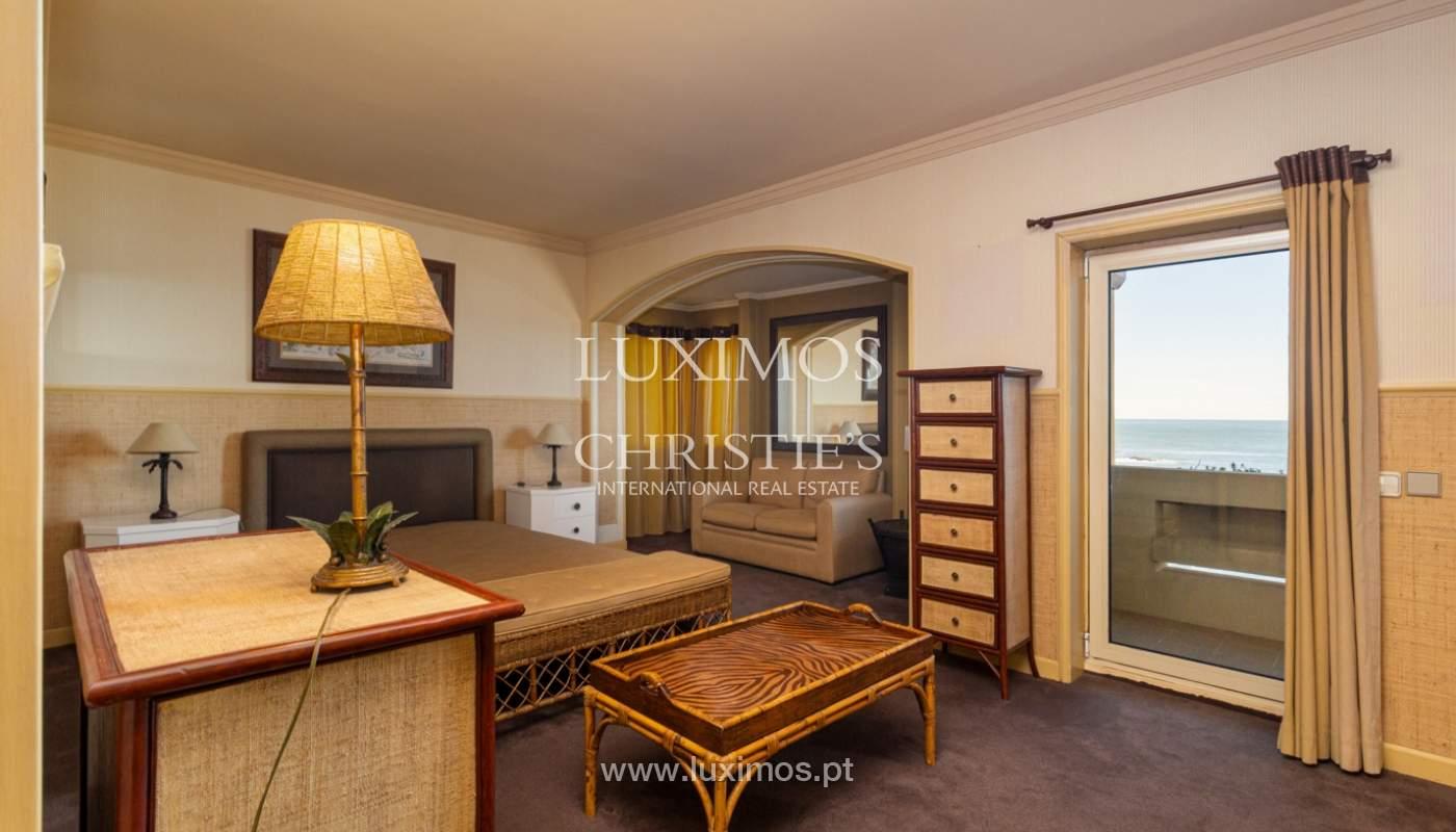 Apartamento de lujo en primera línea de mar, en venta, Foz, Porto, Portugal_157468