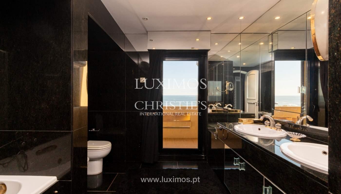 Appartement de luxe sur la 1ère ligne de mer, à vendre, Foz, Porto, Portugal_157469
